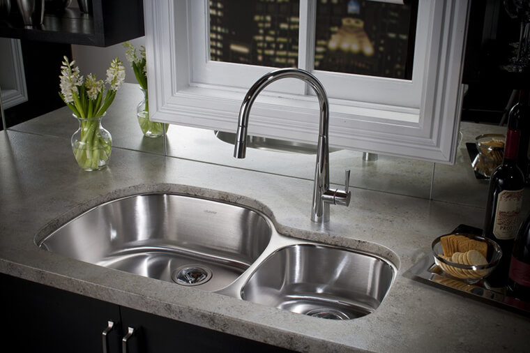 Stainless Steel Kitchen Sink #3b