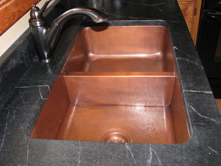 Copper Kitchen Sink #3