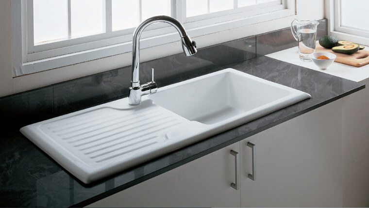 Fireclay kitchen sink #1