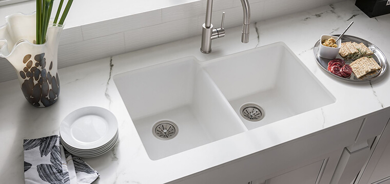 Quartz kitchen sink #1