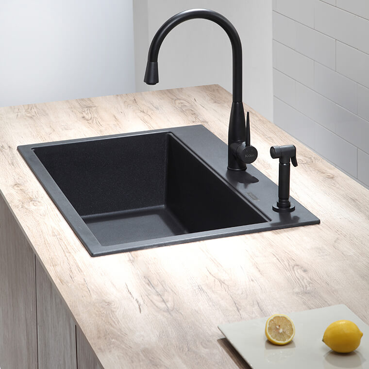 Quartz kitchen sink #2