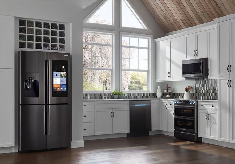 Not Only Does Black Stainless Steel Offer A Unique Way To Spice Up Your  Kitchen, It Is Also Less Prone To Smudges And Fingerprints Than Regular  Stainless ...